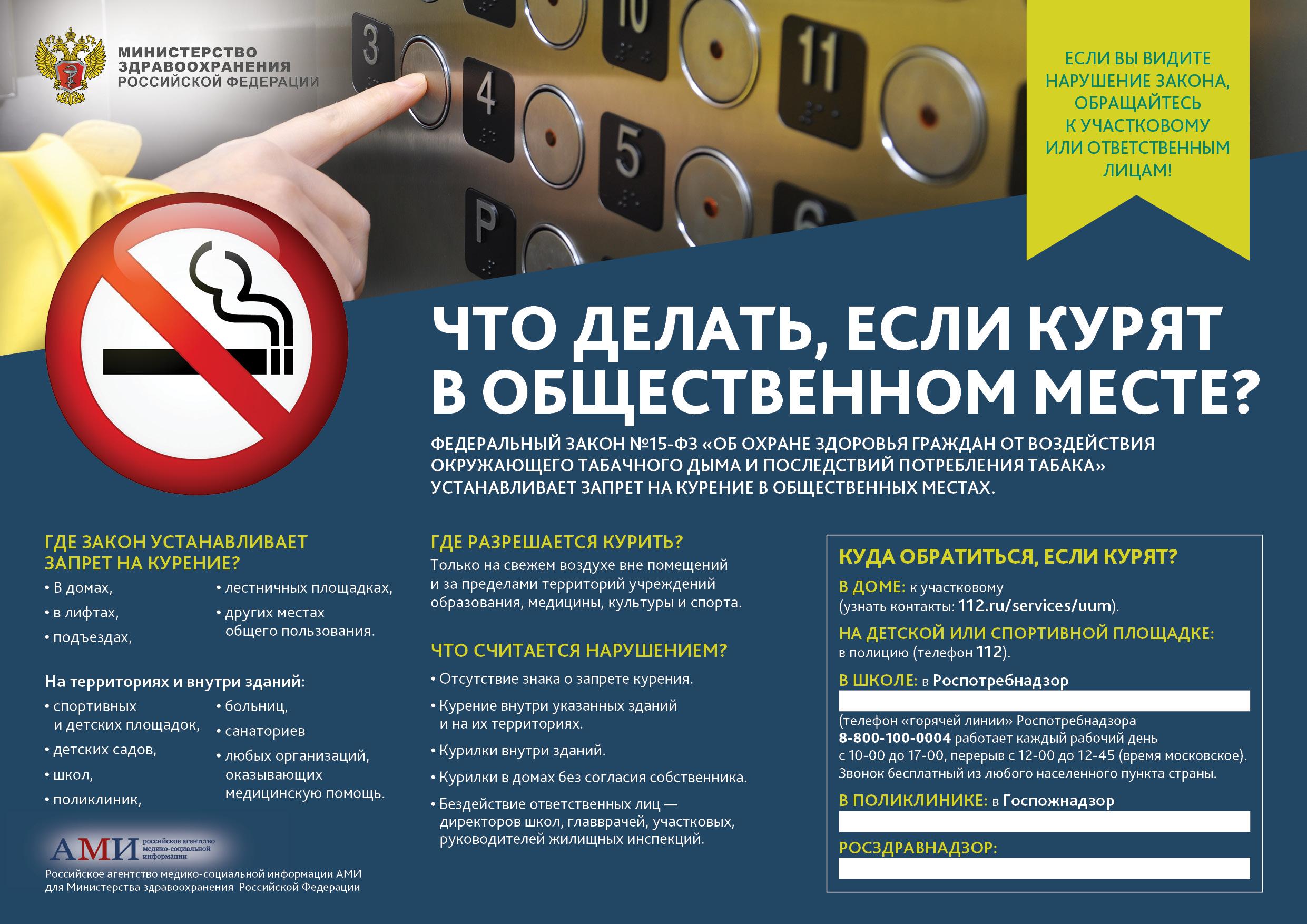 Что делать, если курят в общественном месте (плакаты)? буз у.